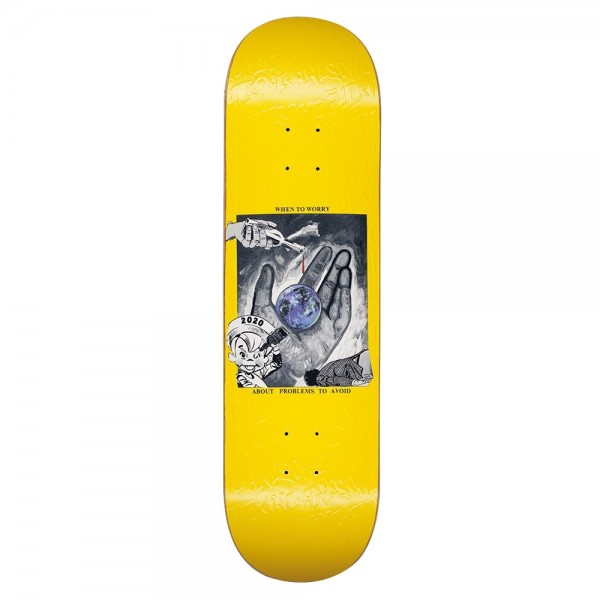 Board Fucking Awesome Worry Yellow