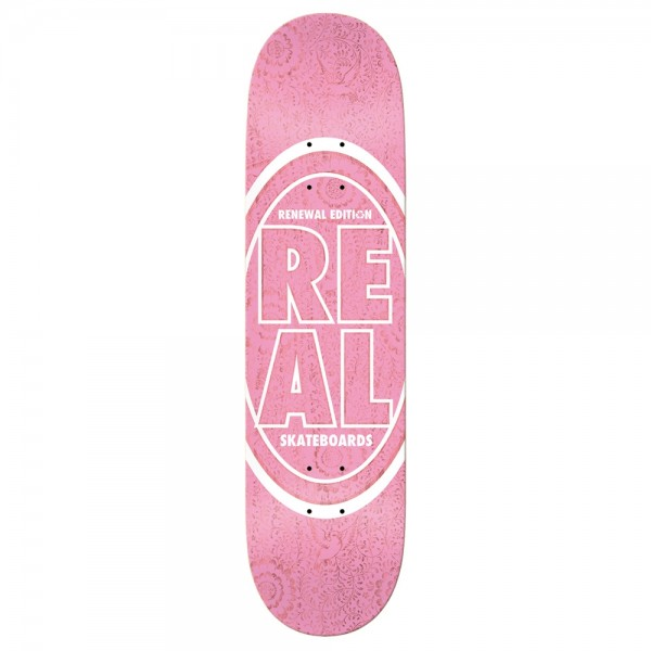 Board Real PP Stacked Oval Floral Pink
