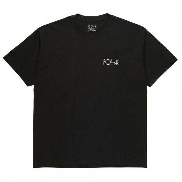 Tee Shirt Polar Stroke Logo Black