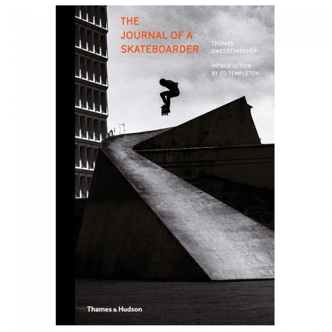 Livre The Journal Of A Skateboarder Thomas Sweertvaegher
