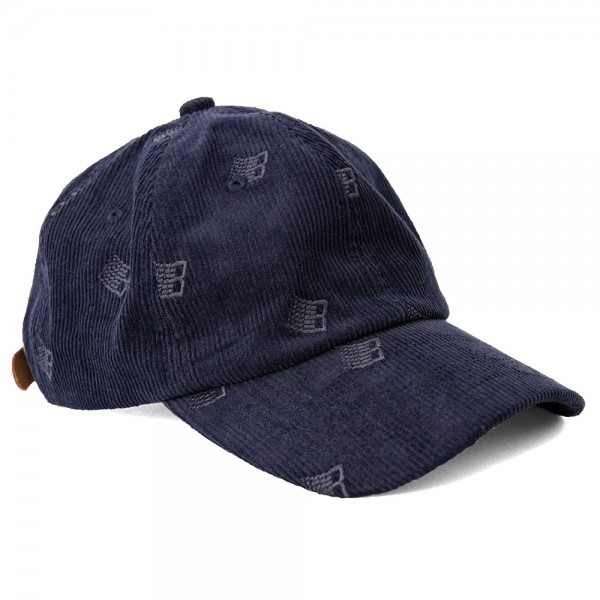 Casquette Bronze All Over Embroidered Cap Navy