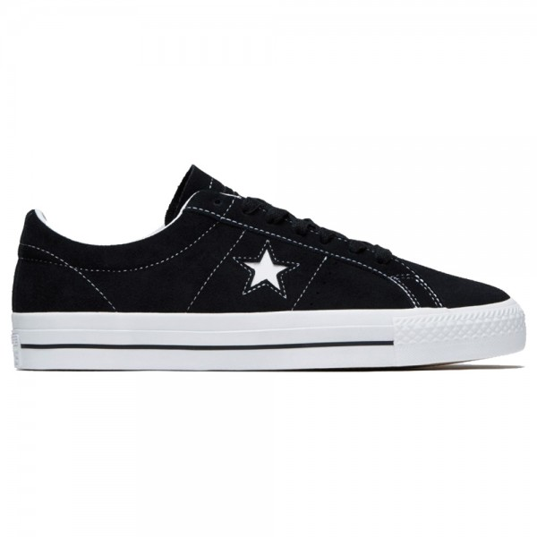 Converse One Star Pro Ox Black White Black