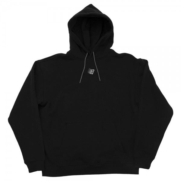 Sweat Capuche Bronze 56k Embroidered Micro Logo  Hoody Black