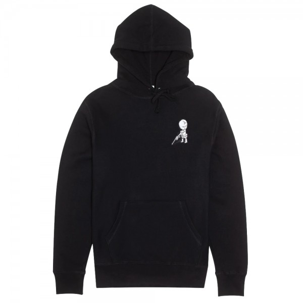Sweat Capuche Fucking Awesome Baby Hoodie Black