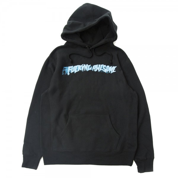 Sweat Capuche Fucking Awesome Stamp Black
