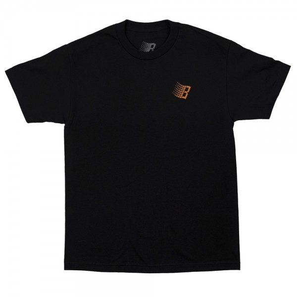 Tee Shirt Bronze 56K B Logo Black Basket Ball