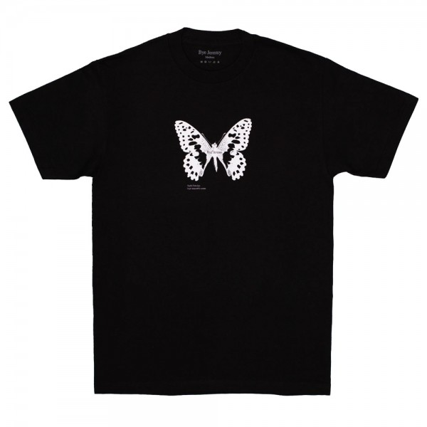 Tee Shirt Bye Jeremy Butterfly Black