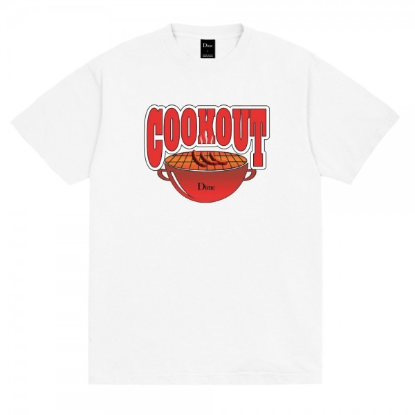 Tee Shirt Dime Cookout White