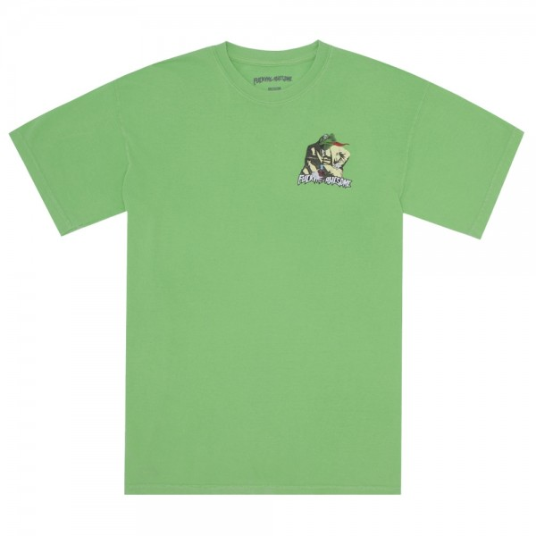 Tee Shirt Fucking Awesome Frogman Tee Pygment Dye Aloe