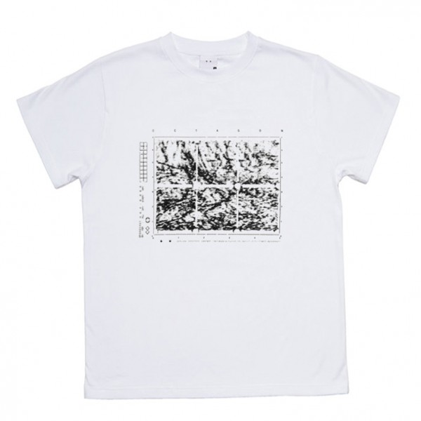Tee Shirt Octagon Static White