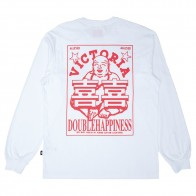 Tee Shirt Manches Longues Victoria HK Double Happiness LS Tee White