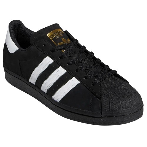 Adidas Superstar Adv Core Black Footwear White Metallic Gold