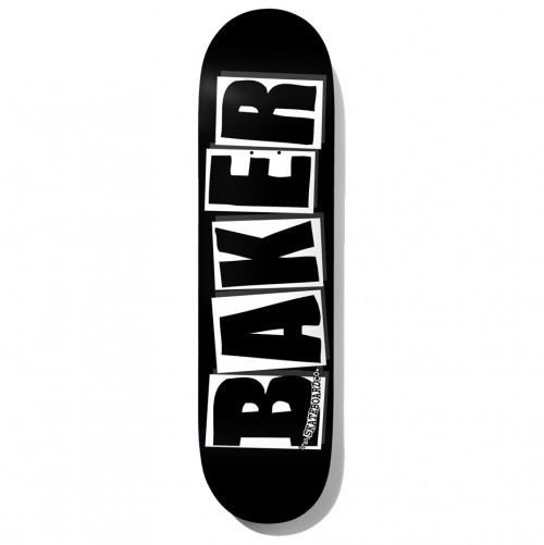 Board Baker Brand Logo Black White