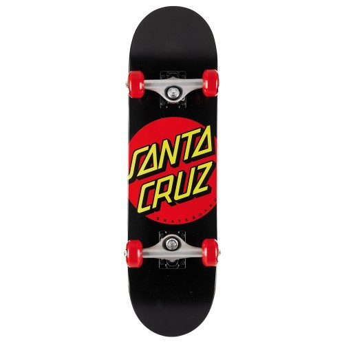 Board Complete Santa Cruz Classic Dot Super Micro Black