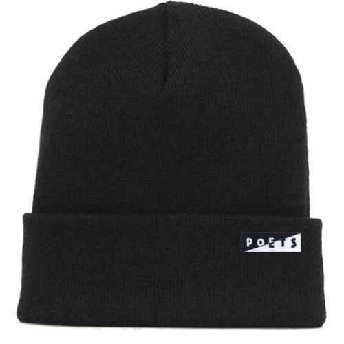 Bonnet Poets Jerome Beanie Black