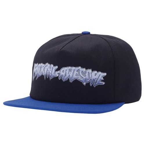 Casquette Fucking Awesome Chrome 5-Panel Cap Black Royal