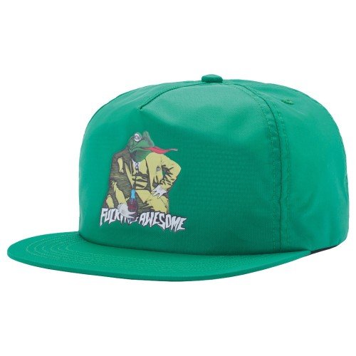 Casquette Fucking Awesome Frogman 6-Panel Cap Green