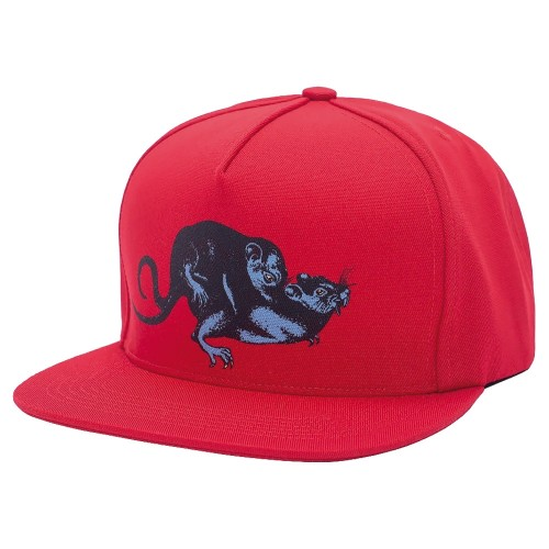 Casquette Fucking Awesome Rat Pack Snapback Red