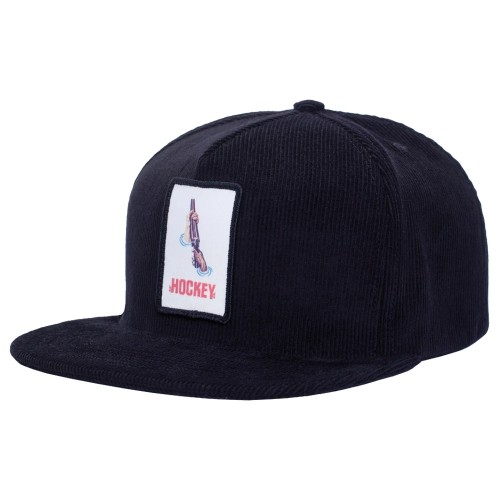 Casquette Hockey Shotgun 5 Panel Cap Black