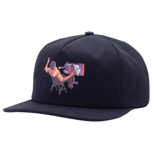 Casquette Hockey Ultraviolence 5 Panel Black