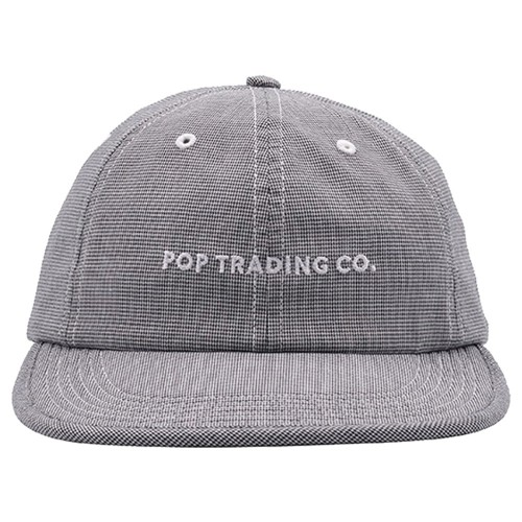 Casquette Pop Trading Company Flexfoam 6 Panel Hat Pepper Plaid
