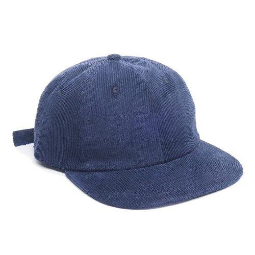 Casquette The Loose Company Cord 6 Panels Navy