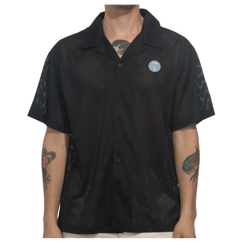 Chemise Fucking Awesome Jersey Mesh Club Black
