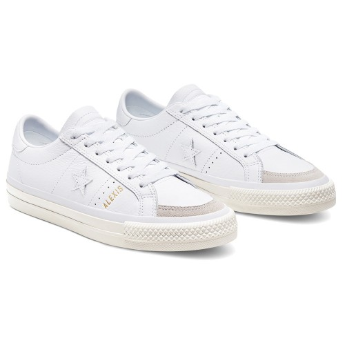Converse One Star Pro AS Ox White Enamel Red