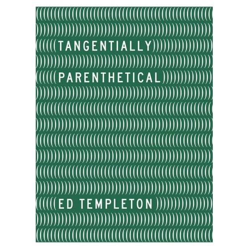 Livre Ed Templeton Tangentially Parenthical