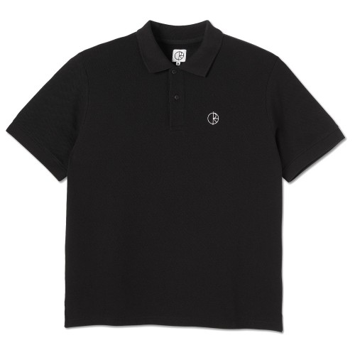 Polo Polar Pique Shirt Black