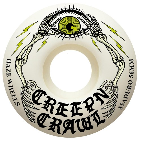 Roues Haze x Creep N' Crawl Almighty 85 A