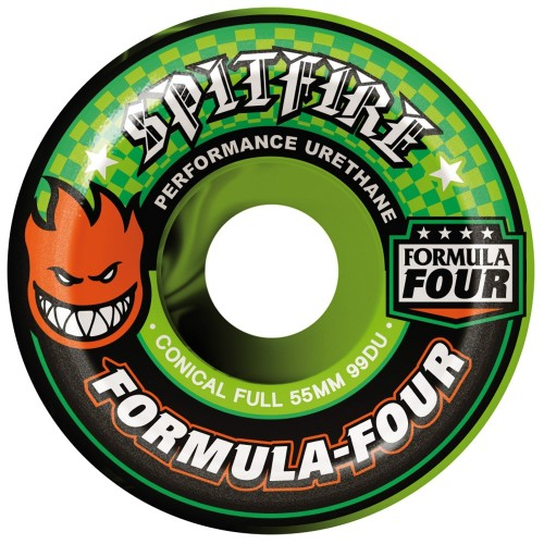 Roues Spitfire f4 99D Color Up Conical Swirl