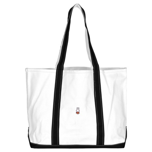 Sac Pop Trading Company x Miffy Beach Bag Off White Black