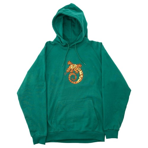 Sweat Capuche Bronze LZRD Hoody Emerald