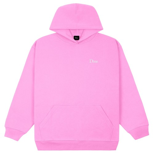 Sweat Capuche Dime Classic Small Logo Hoodie Light Pink
