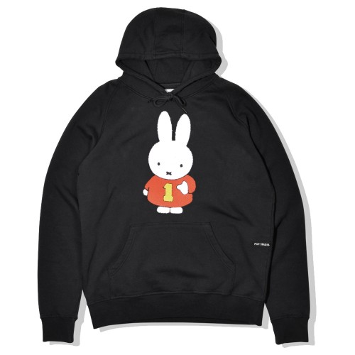 Sweat Capuche Pop Trading Company x Miffy Hooded Sweat Black