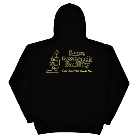 Sweat Capuche Rave RRF Hoodie Black