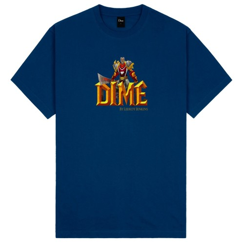Tee Shirt Dime By Leeroy Jenkins Tee Navy