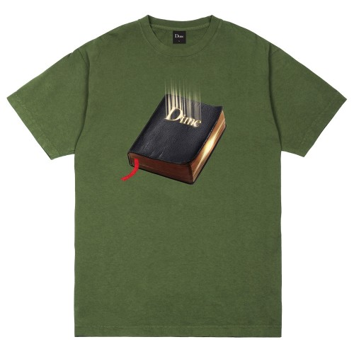 Tee Shirt Dime Classic Book T-Shirt Olive