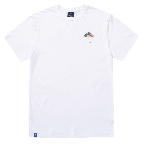 Tee Shirt Helas Voyage Tee White