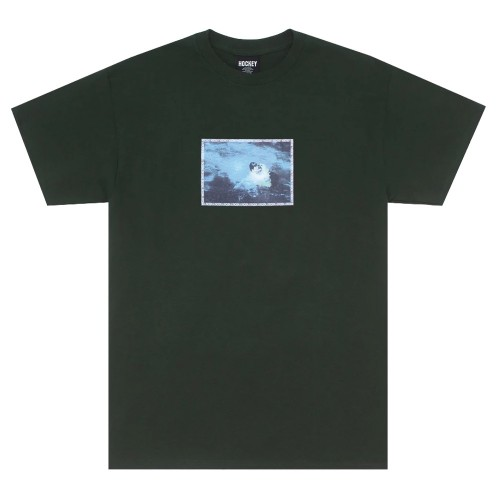 Tee Shirt Hockey Rescue Tee Forest Green