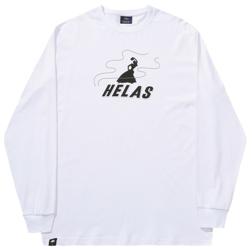 Tee Shirt Manches Longues Helas Gipsy LS Tee White
