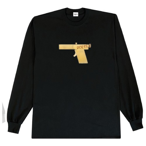 Tee Shirt Manches Longues Poets Glock Tee Black