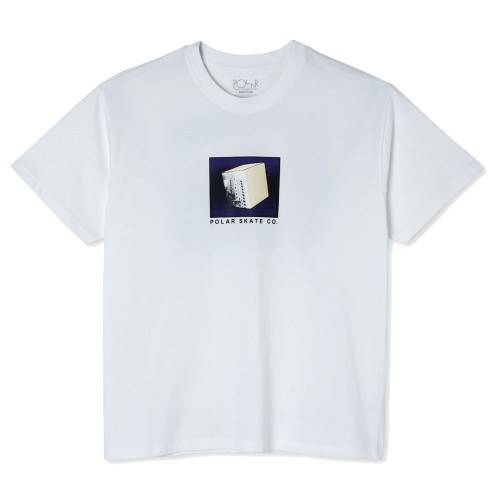 Tee Shirt Polar Isolation Tee White