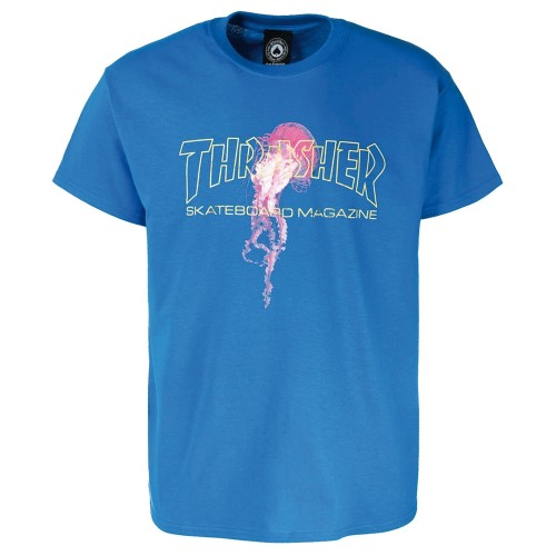 Tee Shirt Thrasher x Atlantic Drift Royal